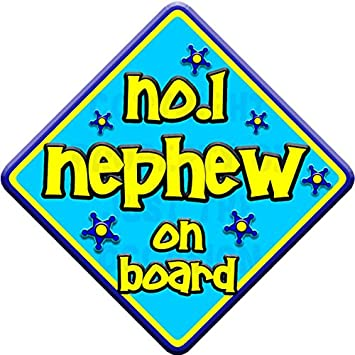 Non Personalised Blue /& Yellow   FUNKY GRANDAD   Baby on Board Car Window Sign