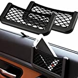 Fengfang Universal Car Seat Side Back Net Storage Bag Phone Holder Pocket Organizer HG