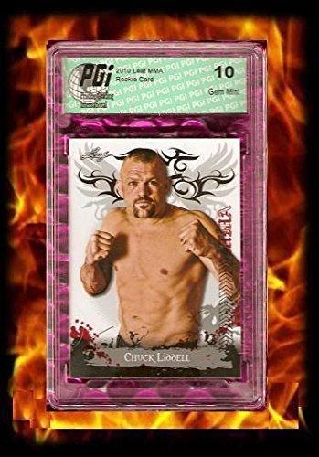 Chuck Liddell Rare 2010 Leaf MMA UFC Rookie - Chuck Liddell Card
