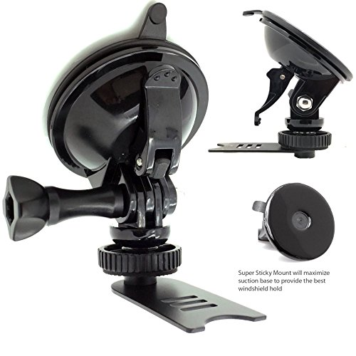 ChargerCity Super Sticky Suction Mount for Beltronics RX65 Vector v995 v955 and Escort Passport 9500ix 85xx 8500x50 RED S55 STi Solo S2 S3 Radar Detectors -  MTRX1+KLP95XX