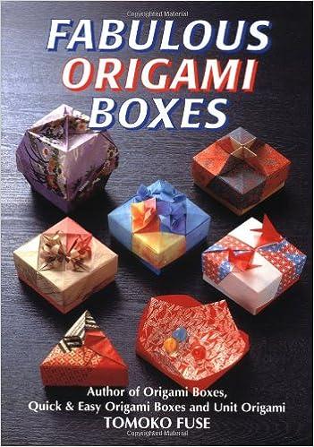 Fabulous Origami Boxes Tomoko Fuse 9780870409783 Amazon Books