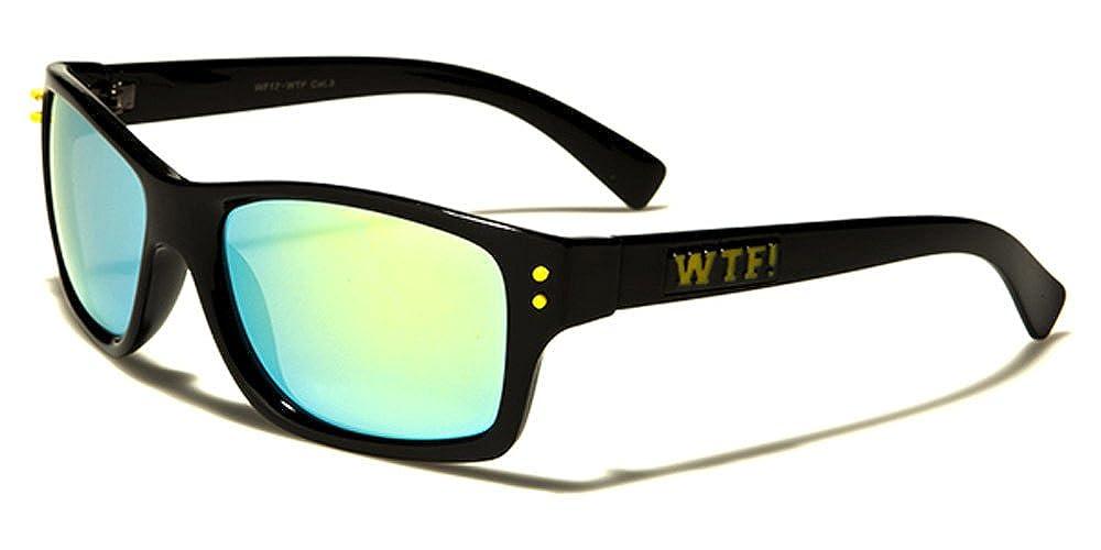 New Biohazard Designer Classic Men Women Mirrored Sunglasses UV400 Free Pouch