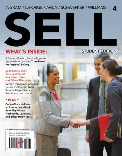 SELL4 (with CourseMate Printed Access Card) (New, Engaging Titles from 4LTR Press)