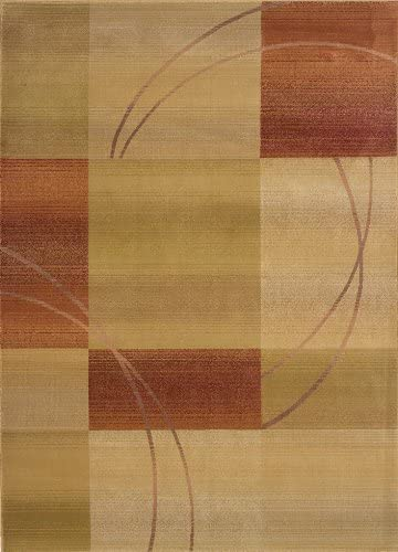 Oriental Weavers 1608D Area Rug, 4-Feet by 5-Feet 9-Inch