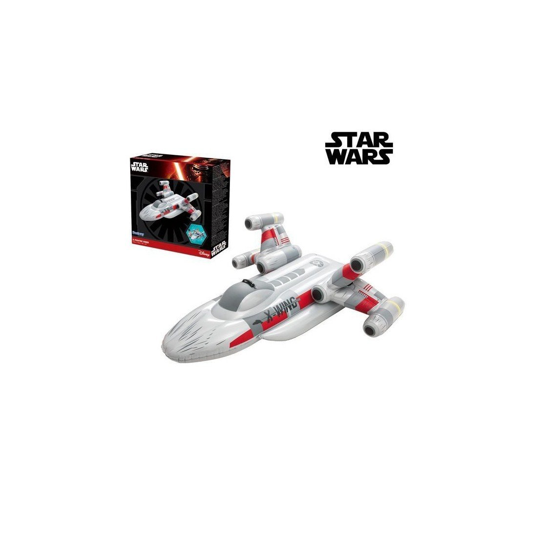 Figura Hinchable para Piscina Star Wars 3246 Avión: Amazon.es ...