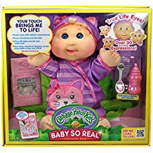 "Cabbage Patch Kids 14"" Baby So Real Blonde"
