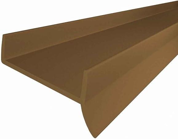 17 mm 1,5 m Bavette de plinthe de meuble de cuisine STEIGNER Joint de cuisine LU 16 mm Transparent
