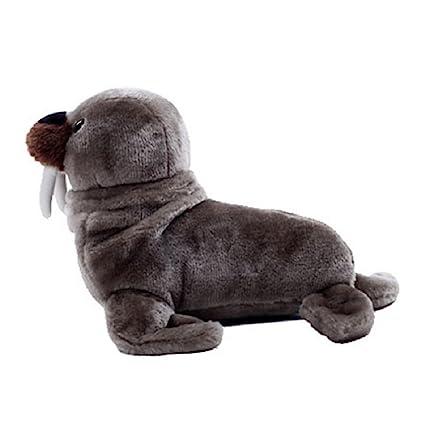 Cute Pillow Walrus Stuffed Animal Simulation Plush Toys Jouet Peluche