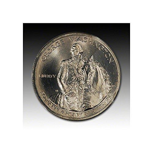 1982 D US Commemorative George Washington Silver Half Dollar (1/2) Brilliant Uncirculated US Mint