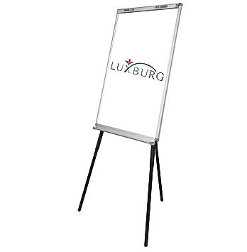 Luxburg - Pizarra magnética blanca, con soporte para blocs y ...