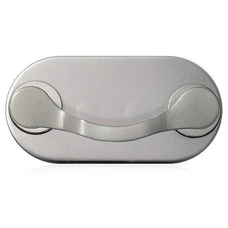 MAG-B soporte magnético para gafas (acero inoxidable pulido)