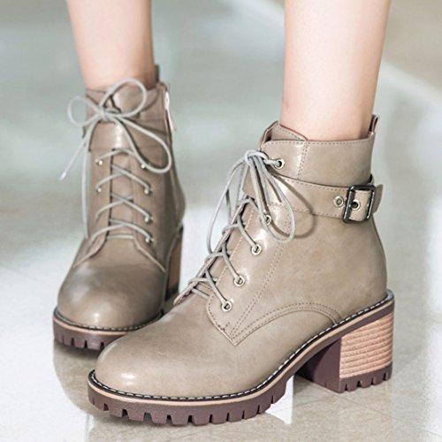 AIYOUMEI Women's Classic Boot Grey luInji1i1