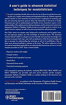 Quantitative Methods in Population Health: Extensions of