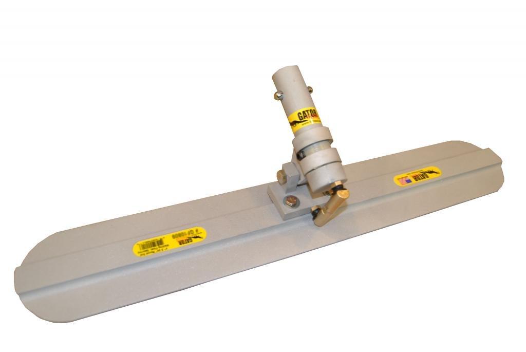 Gator Tool Concrete Walking Float Round End 30'' (w/Mini Adj. Leveling Head)