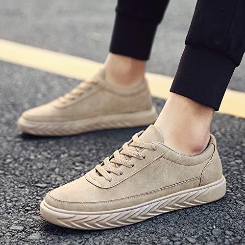 Tendance Dentelle Hommes Mode Hommes PU Personnalité Sport Chaussures De La Run NANXIEHO Loisirs Sneakers gca5zqWWF
