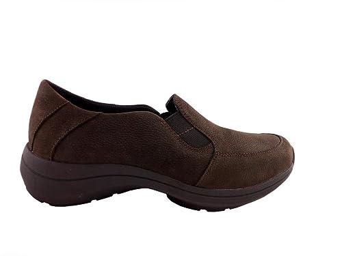 Clarks Mocasines de Piel Para Mujer Ebony Nubuck 36 EU Size: 36 EU: Amazon.es: Zapatos y complementos