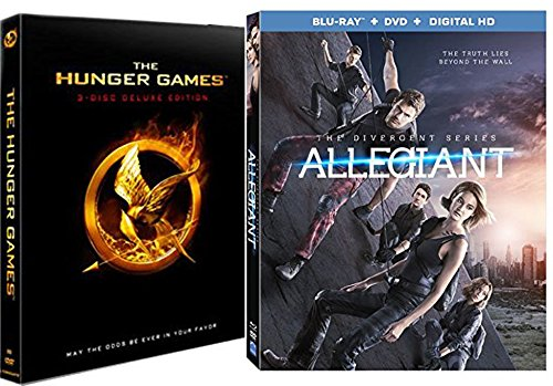 Divergent Series: Allegiant + The Hunger Games - 3 Disc Special Edition Blu Ray