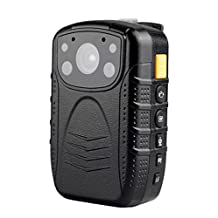 R-Tech Hd 1080p Infrared Night Vision Police Body Camera Security Ir Cam with 32gb Built in Memory