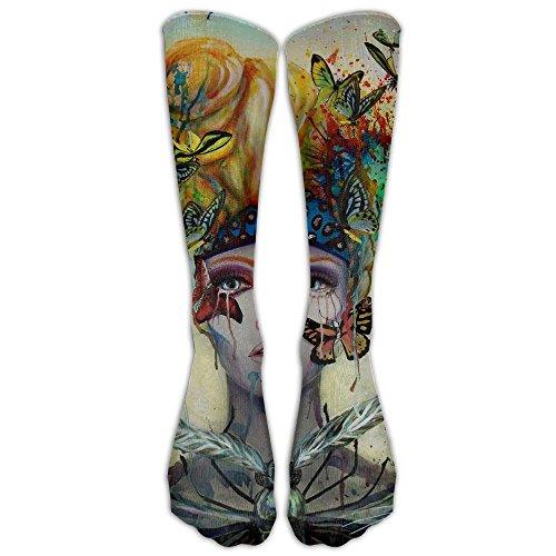 Metamorphose Unisex Knee High Athletic Soccer Tube Sock, Over The Calf Athletic Socks