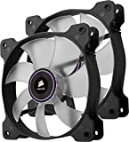 Corsair CO-9050033-WW Air Series SP 120 LED Purple High Static Pressure Fan Cooling - twin pack