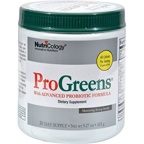 Pack of 2 x NutriCology Pro Greens With Advanced Probiotic Formula - 9.27 oz ()