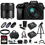 Panasonic Lumix DMC-G7 Mirrorless Digital Camera w/ 14-140mm f/3.5 & 30mm f/2.8 Lenses & 64GB SD Card Bundle
