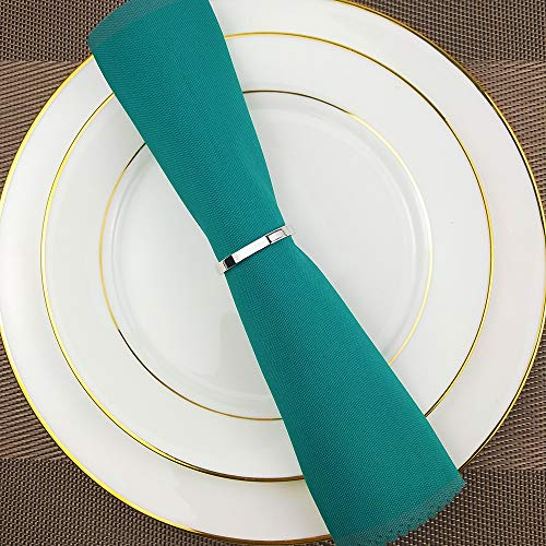 Elehere Wedding Holiday Napkin Rings Set of 8