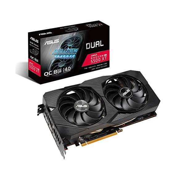 ASUS AMD Radeon RX 5500XT Overclocked O8G GDDR6 Dual Fan EVO Edition HDMI DisplayPort Gaming Graphics Card (DUAL…