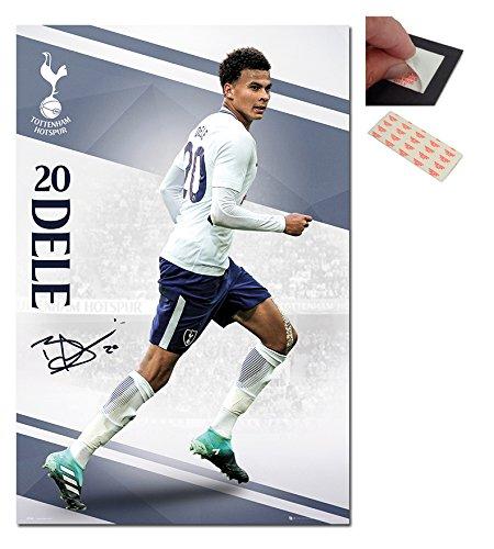 Tottenham Hotspur Dele Alli 2017 / 2018 Season Poster - 91.5