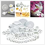Yakamoz Cake Decration Tool Kit Fondant Cake Cookie Cutter Mold Sugarcraft Icing Decorating Flower Modelling Tools (10 Sets / 33pcs)