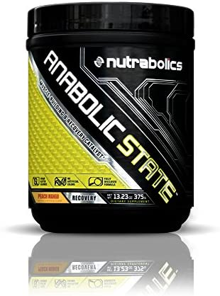 Nutrabolics Anabolic State Peach Mango 375g 30 Servings