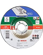 Bosch 125mm x 2.5mm Metal Cutting Disc (5 Pack)