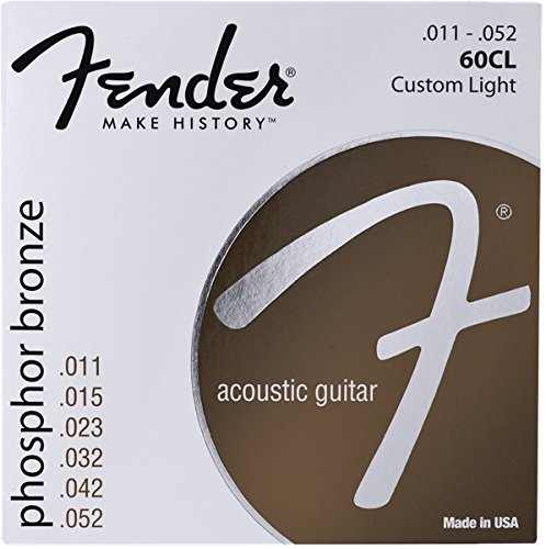 Fender 60L 0730060405 Acoustic Guitar Phosphor Bronze Ball E