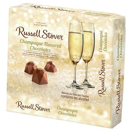 Russell Stover Champagne Flavored Valentines Chocolate 3.7oz