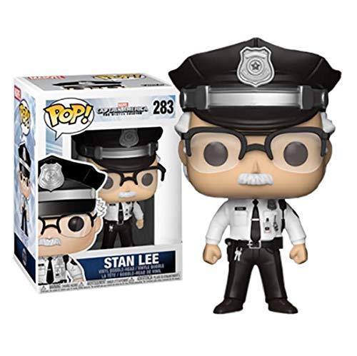 Stan Lee - Capitan America ¡The Winter Soldier Cameo Pop! Figura de Vinilo