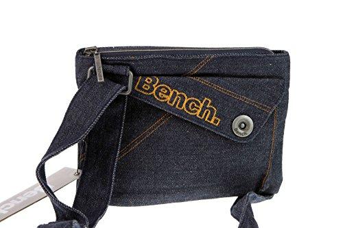 Bench , Borsa Messenger  Uomo Blu Blau s