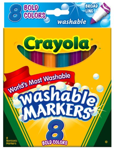 Crayola Washable Bold Broad Markers