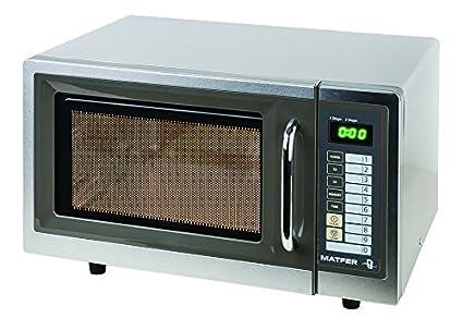Horno microondas programable profesional de 25 litros, 1000 W ...