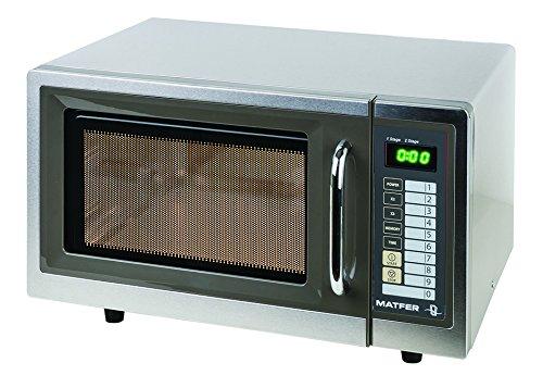 Horno microondas programable profesional de 25 litros, 1000 ...