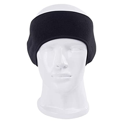 ConStore Fleece Sports Headwear Winter Running Ear Warmer Headbands Cold  Weather Thermal Elastic Sports Headband Non-Slip for Running Skiing Yoga  Cross ... 483f6d268
