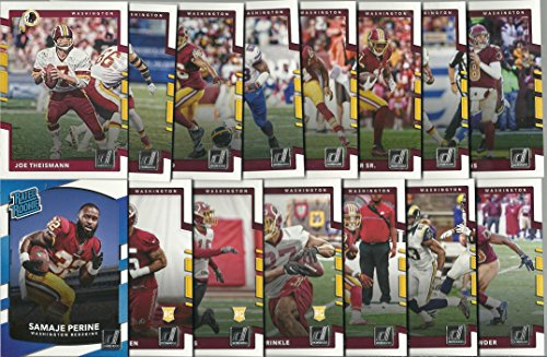 2016 & 2017 Panini Donruss Football Washington Redskins 2 Team Set Lot Gift Pack 28 Cards W/Rookies