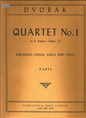 n D Major - Opus 23(For Piano,Violin,Viola and Cello) (Cello Quartet Music)