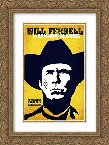 Casa de mi Padre 18x24 Double Matted Gold Ornate Framed Movie Poster Art - De Casa Mi Padre Poster