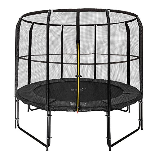 Magic Circle Pro Black Trampolin 244 cm mit sicherheitsnetz Schwarz