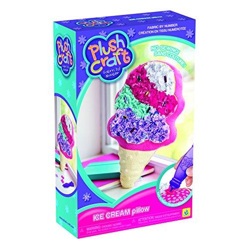 Orb Factory PlushCraft Ice Cream Pillow - Cream Craft Ice