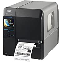 Sato WWCL02081 Series CL4NX High Performance Thermal Printer, 203 dpi Resolution, 10 ips Print Speed, Serial/Parallel/Ethernet/USB/Bluetooth/WLAN Interface, Real Time Clock, 4