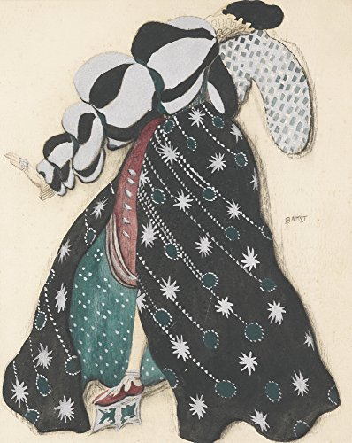 Berkin Arts Leon Bakst Giclee Canvas Print Paintings Poster Reproduction(Potiphar'S ()