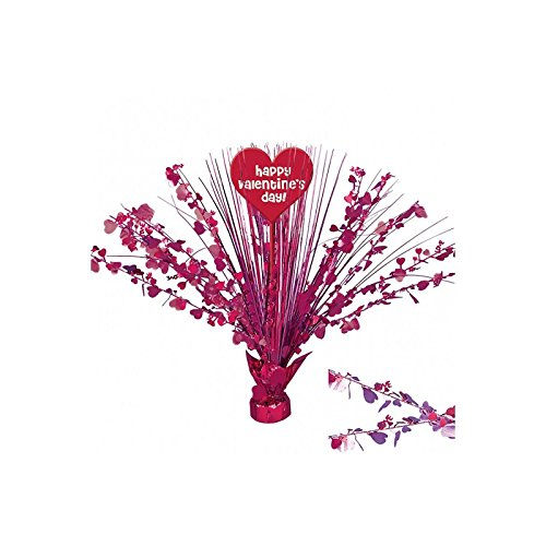 amscan Radiant Valentine's Day Party Heart Foil Spray