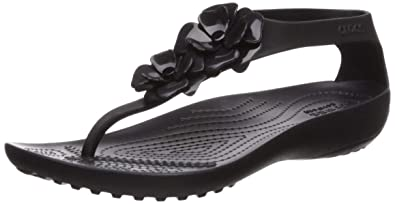 ad077940e8a8 Amazon.com  Crocs Women s Serena Embellish Flip Flop  Shoes