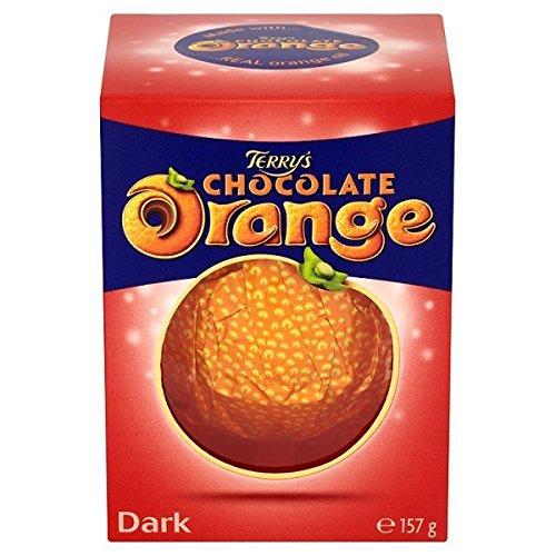 Terry's Dark Chocolate Orange Dark 157g (Pack of 6)
